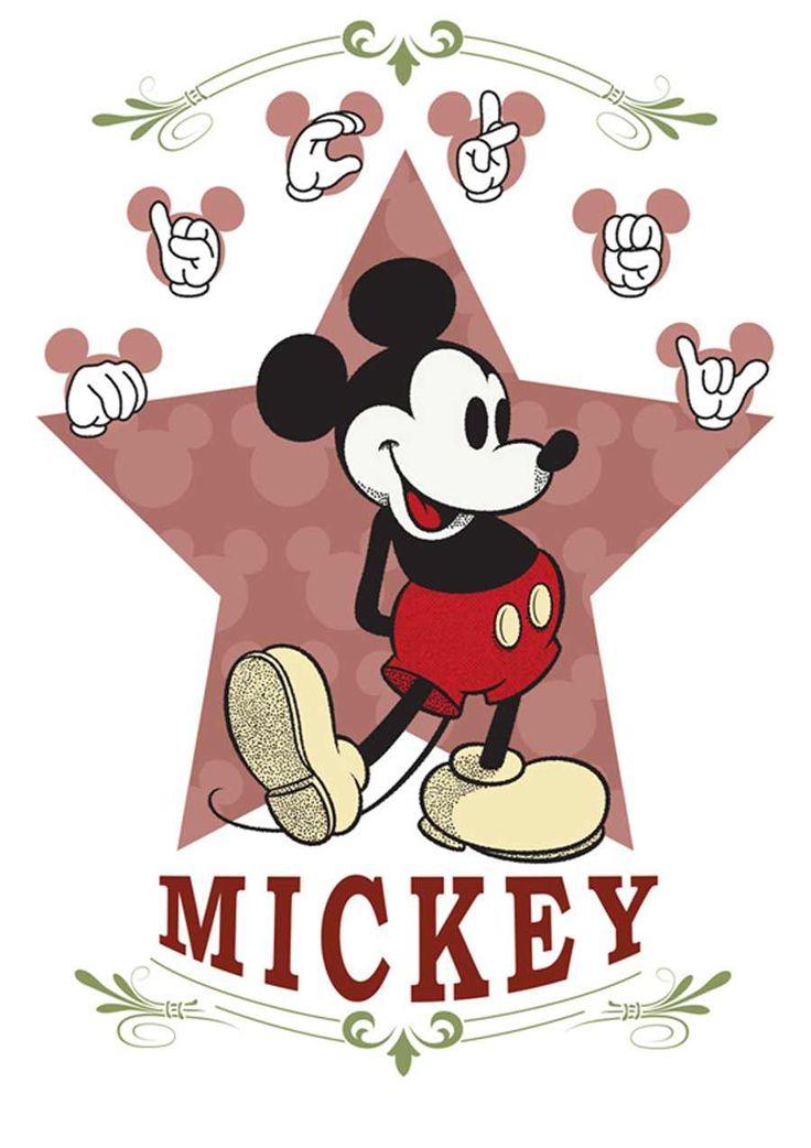 Mickey art sign language