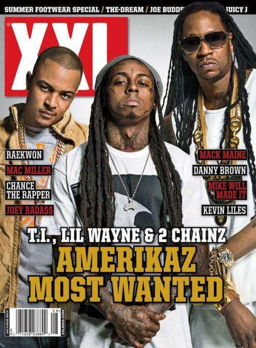 2 Chainz, Lil' Wayne & T.I. Cover July/Aug 2013 Of XXL   News