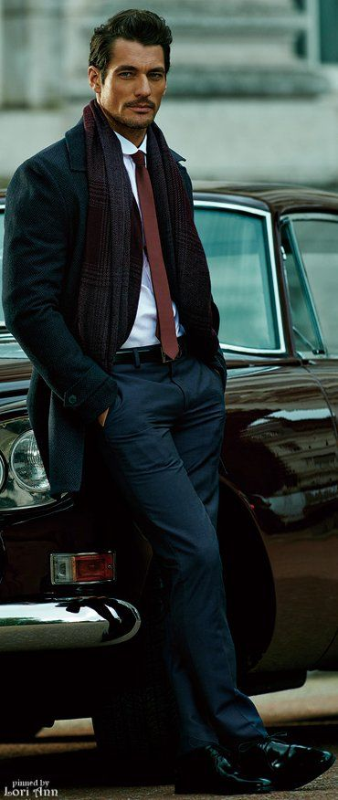 David Gandy - gorgeous and always the epitome of style