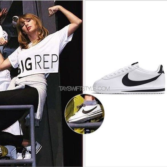dirigir Anónimo oficina postal  Taylor Swift Style (@tayswiftstyledotcom) • Instagram photos and videos | Taylor  swift style, Nike classic cortez, Black and white theme