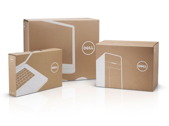 Designed by Dowling | Duncanin collaboration with Dell's VIBE team (Visual Identity and Brand Experience)