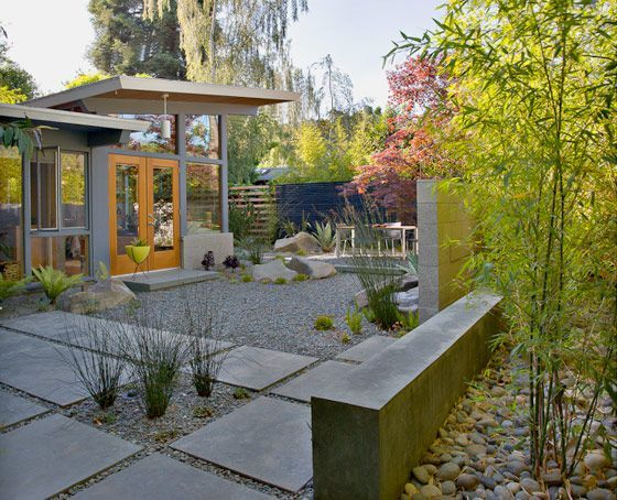 Find This Pin And More On Mid Century Modern Landscaping By Msatomic.