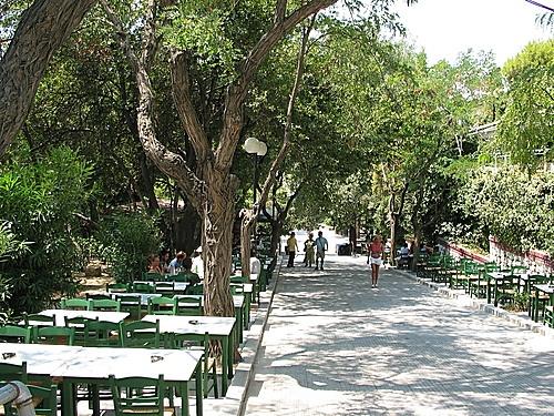 dexamenis square, athens, greece