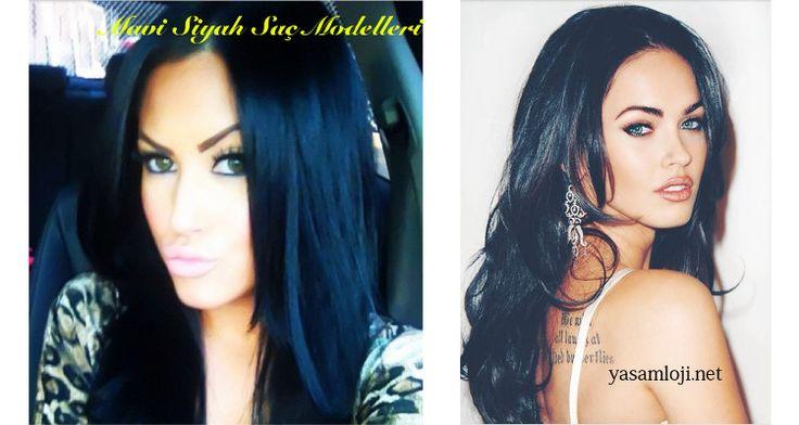 Mavi Siyah Saç Modelleri – 2015 Saç Modelleri