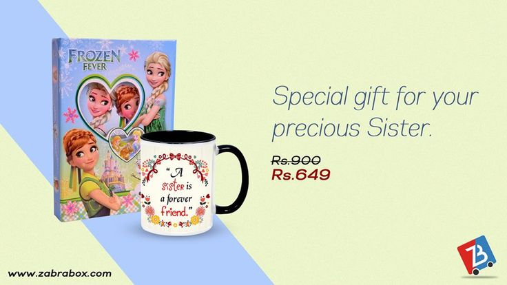 An adorable gift for your sister. Buy now and get it delivered at the doorstep.