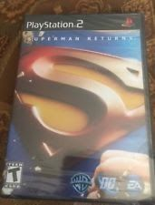Playstation 2 Superman Returns The Video Game BRAND NEW SEALED Read Descript.