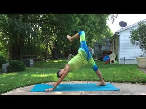 25-Minute Post-Run Yoga Flow Sequence - YouTube