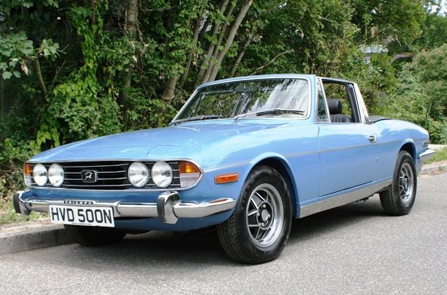 Historics at Brooklands - Specialist Classic and Sports Car Auctioneers - Ref 82 1975 Triumph Stag