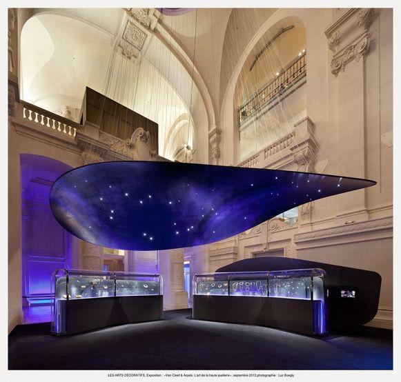 Exposition van cleef arpels l 39 art de la haute joaillerie les arts d coratifs paris les - Les arts decoratif paris ...