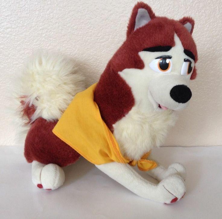 "17"" Balto Jenna Plush Dog Stuffed Animal Amblin Toy Scarf"