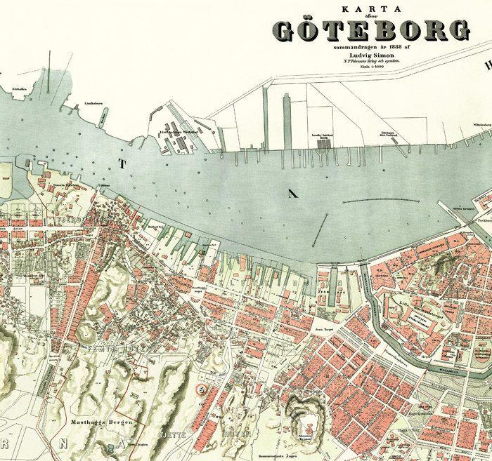 Karta Göteborg 2