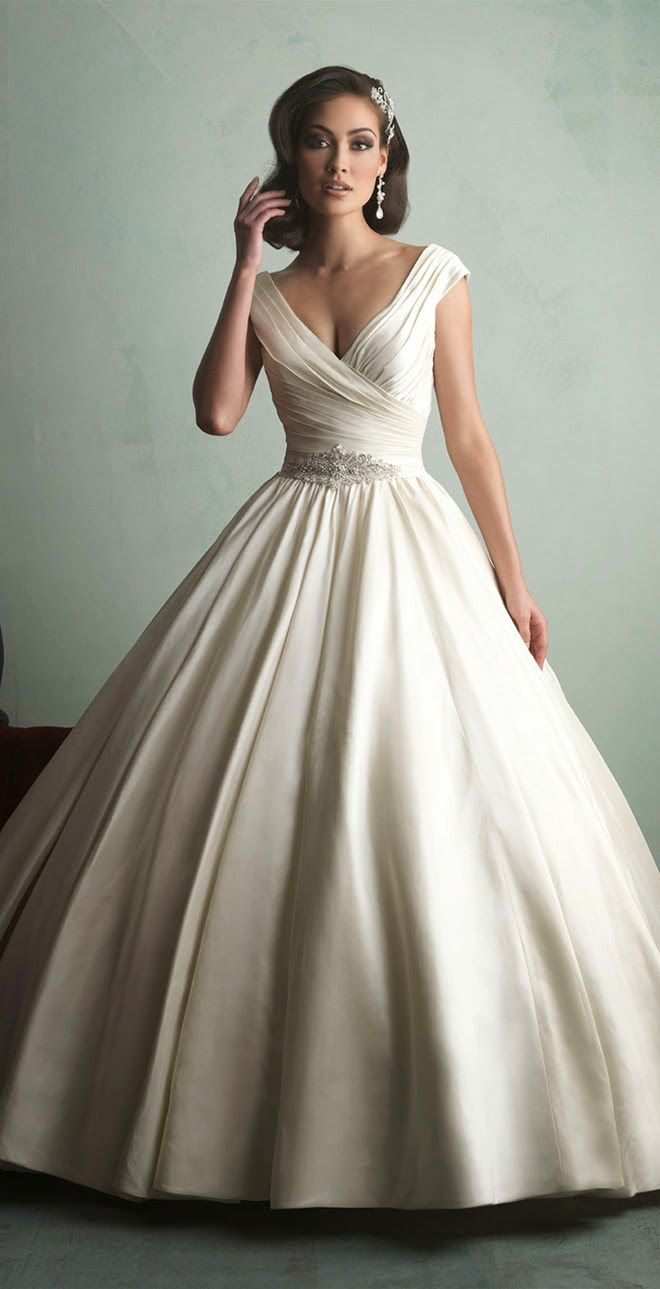 Allure Bridals Fall 2014 - Belle the Magazine . The Wedding Blog For The Sophisticated Bride[ AlbertoFermaniUSA.com ] #fashion