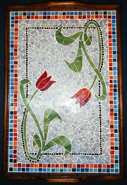 bandeja, mosaico                                                                                                                                                                                 Más