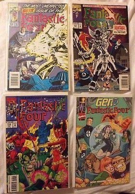 Lot Of 4 Fantastic Four 376 377 378 Marvel Comic Books 1993 Gen 13  | eBay