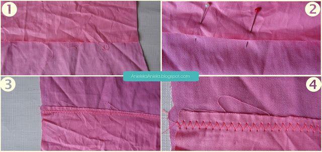 Diy tutorial fabric scraps ideas Co można zrobić z resztek materiałów, skóry ?Diy