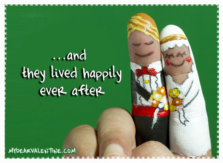 ...and they lived happily ever after <3 <3