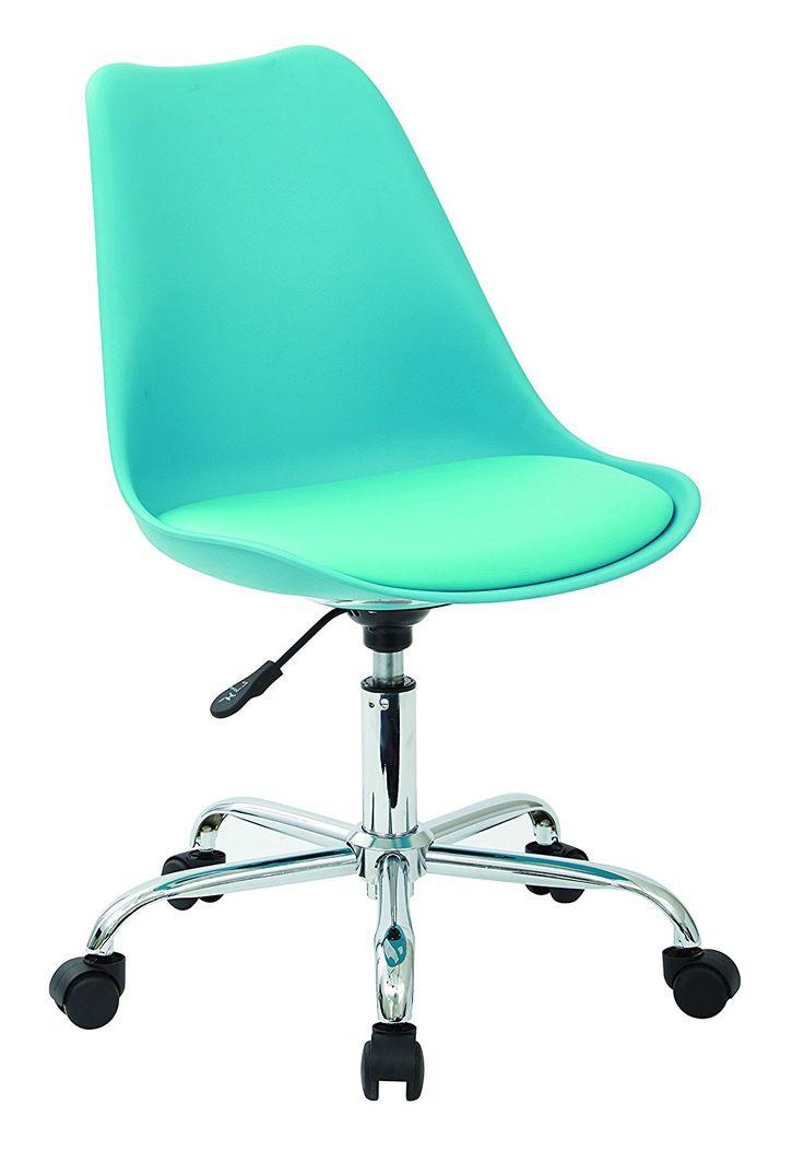Teal Desk Chair - Best Home Office Desks Check more at http://www.sewcraftyjenn.com/teal-desk-chair/