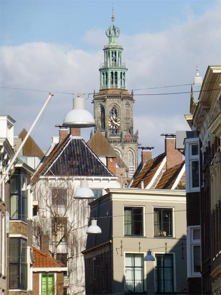 Martinitoren in Groningen, Nederland/The Netherlands.  door Cityfan |original tips for citytrips.    Lees meer over Groningen op http://www.cityfan.nl/nederland/groningen/info-stad/