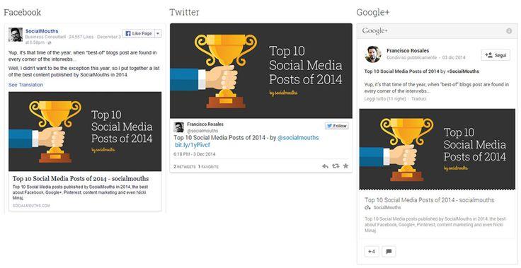 Posts sui social media, marketing su facebook, twitter e googleplus - http://www.ribo.it/pub/immagini-migliori-per-i-tuoi-post-social -  Immagini migliori per i tuoi post social