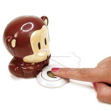 Cadeau malin: Mini-séchoir à ongles design singe