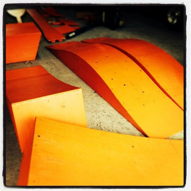 New ramps and jumps!  #joyride #summer2014