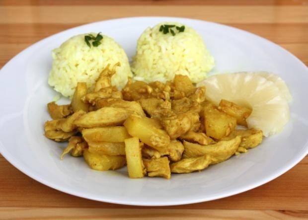 Kuracie prsia s ananásom a kari, recept | Naničmama.sk