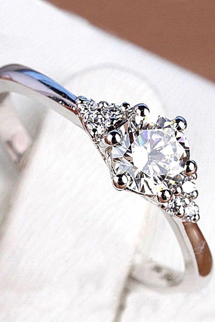 Vintage Diamond Rings Elegant
