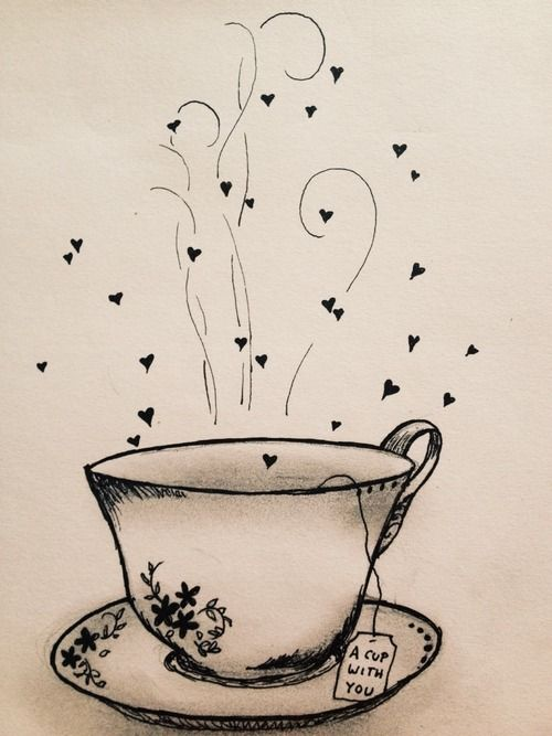 A cup with you ♥
