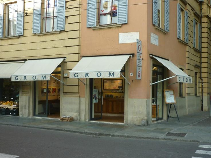 **GROM (best gelato in Italy, stores in other countries as well) - Modena, Italy