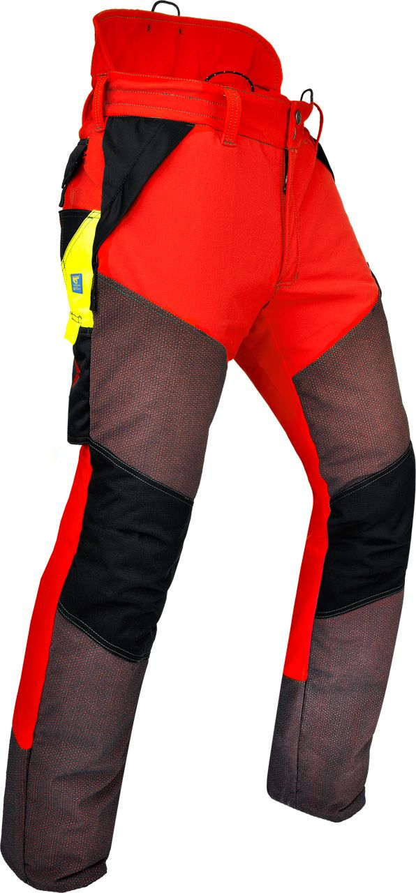 Pfanner Chainsaw pants Kevlar-Extrem - Bundhose rot