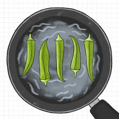 Try this quick tip for cooking okra--without ending up with a slimy mess.