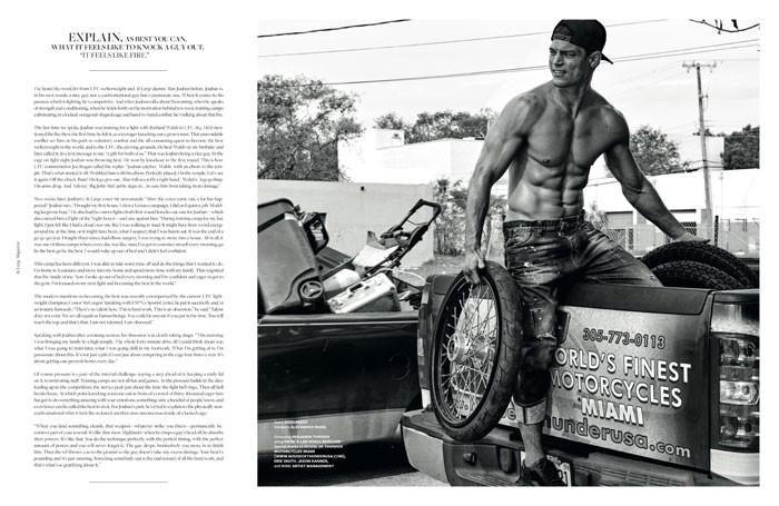 Re-Visted Alan Jouban (At Large Magazine)