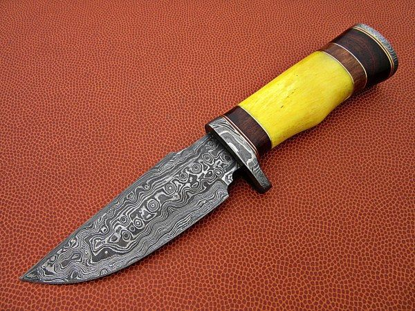 Buy Damascus Steel Knives Online At Scorpion Mart Bowie Knife Knife Bowie Knife For Sale