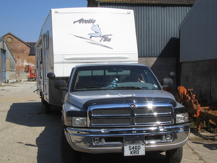 Our first American RV Dodge Ram with 30 foot Artic Fox 5 th Wheel Trailer
