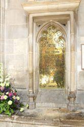 La tombe de Jane Austen dans la cathédrale