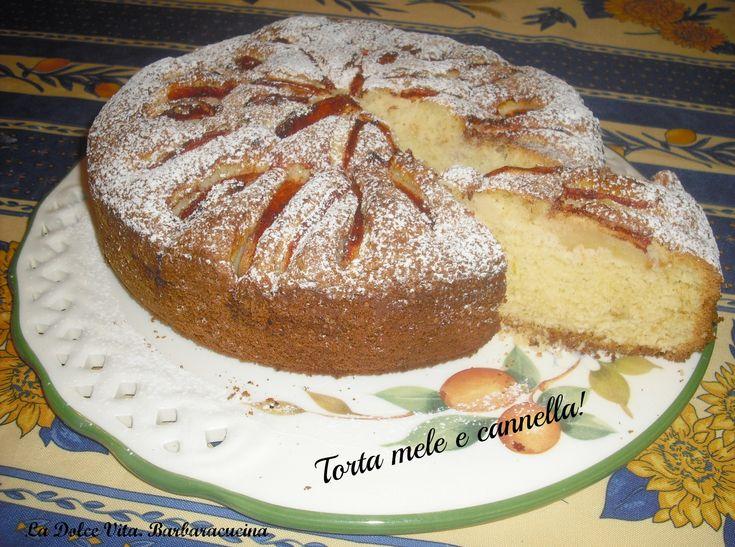 Per la merenda vi propongo una soffice torta #mele e #cannella!