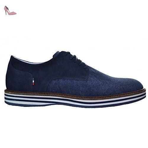 Armani Jeans Men's Blue Canvas Shoe 9.5 UK/44 Euro - Chaussures emporio armani (*Partner-Link)
