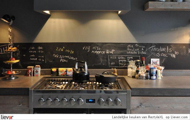 Keuken Lichtgrijs : RestyleXL Landelijke keuken – RestyleXL inbouwapparatuur