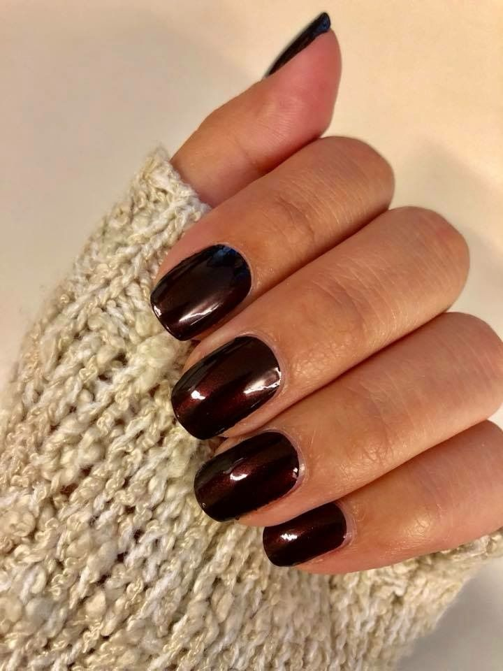 Color Street Made In Milan Color Street Nails Simple Nails Brown Nail Polish