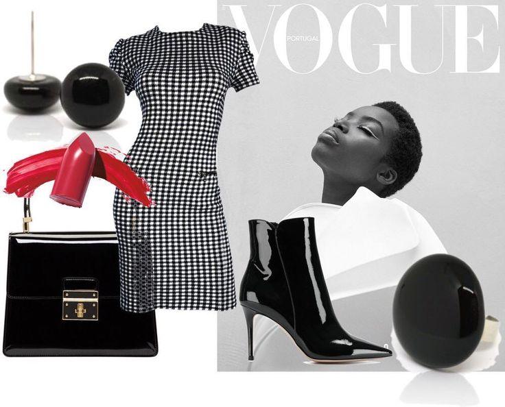 Simple black collection #nyiriandrea #jewelrydesigner #fusingglass #earrings #ring #black #jewelry #ootd #mitvegyekfel