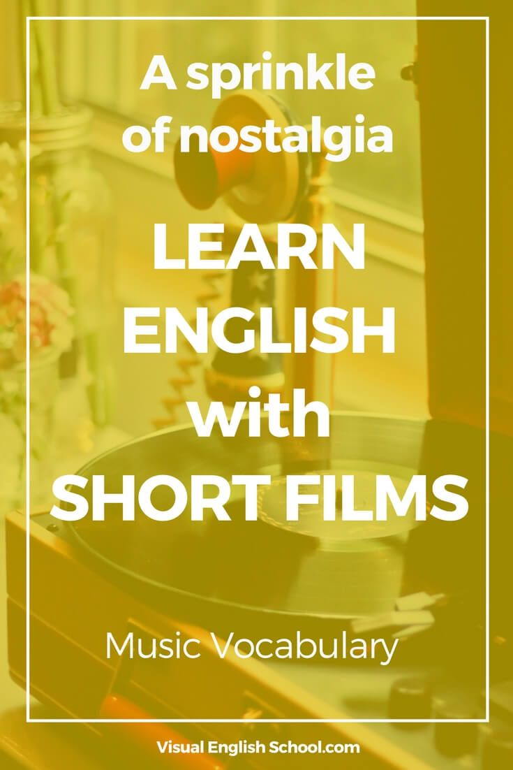 """Learn music vocabulary with the BAFTA-nominated short film """"Mixtape"""". Click on the article and study English with the short movie. music vocabulary, learn english with movies, #musicvocabulary, #learnenglish, #englishwithmovies"""