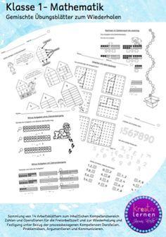Mathe Klasse 1 - Arbeitsblätter