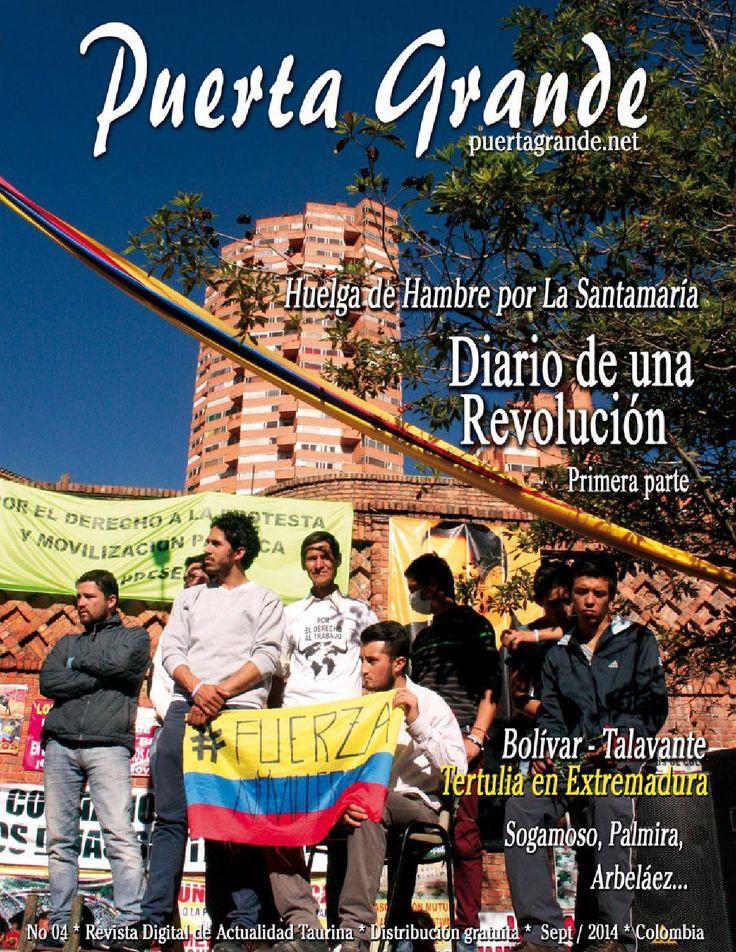 Puerta Grande Revista No 04. Septiembre, 2014  Puerta Grande Puerta Grande Revista de toros con información de Colombia y el Mundo