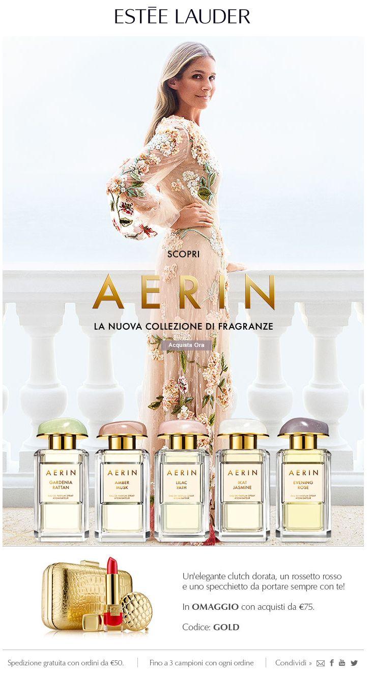 AERIN: la nuova collezione di fragranze. Scoprila ora
