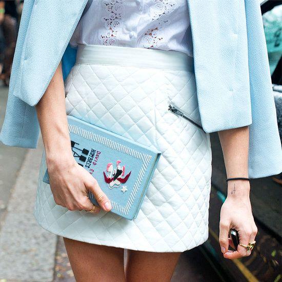 Book clutch found during London Fashion Week