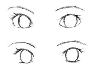 This is really helpful for me because as long as I can draw the frame of an eye I can draw in the rest with no problem