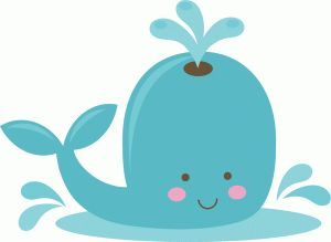 Silhouette Online Store - View Design #40973: cute whale