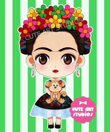 Frida Kahlo Dibujo, Frida Kahlo Caricatura Niña, Frida Diseños, Dibujo Caricatura, Frida Kahlo Fiesta, Frida Catrina, Fiestas Frida, Frida Kahlo Fondos,