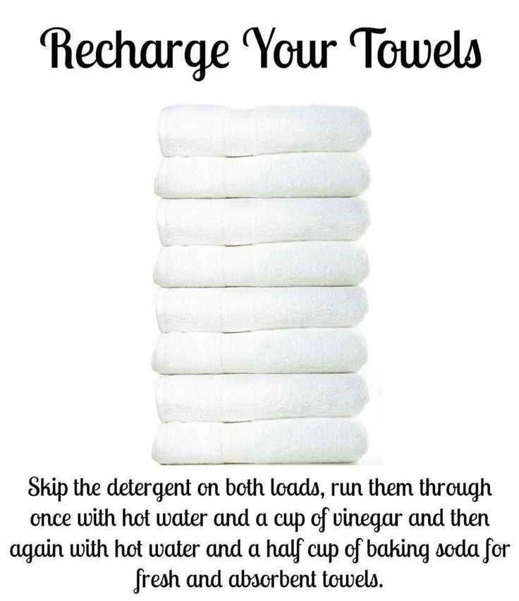 How to deep clean towels- trying this right now, i'll let you know if it works!