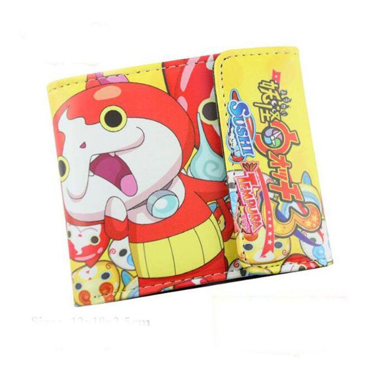 Bandai Japanese Anime Monster sushi tempura Youkai Short Wallet Purse Bag PU Leather Game Cosplay Girl Women Gift